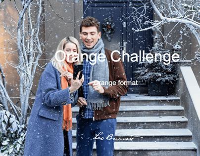 Orange Challenge Nowy format kreatywny