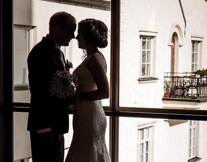 A Copper Tone Wedding