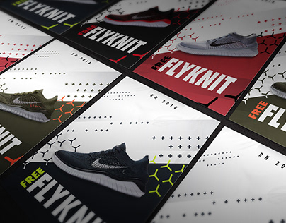 Nike Free RN Flyknit - Flyer Design