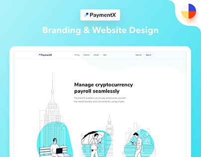 PaymentX Branding & Website Design