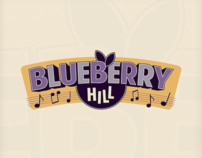 2016: Blueberry Hill - rockabilly band logo