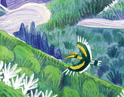 Editorial illustration - Current Conservation