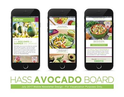 HASS Avocados | Newsletter Design Samples
