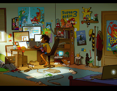 The gamers room