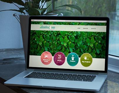 Sitio Web Diseño Joven