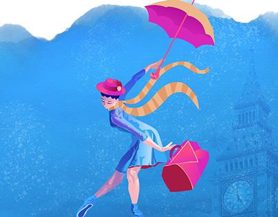 """Espetáculo de Ballet """"Mary Poppins"""""""