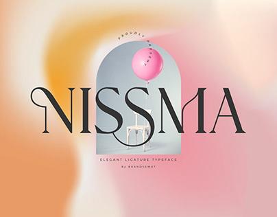 Nissma - Modern Ligature Serif
