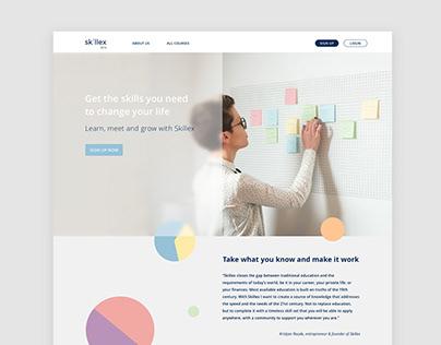 Skillex - Educational Platform