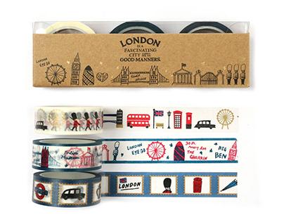 世界奧運經典之城市:倫敦 東京 里約 巴黎 Olympic host cities products