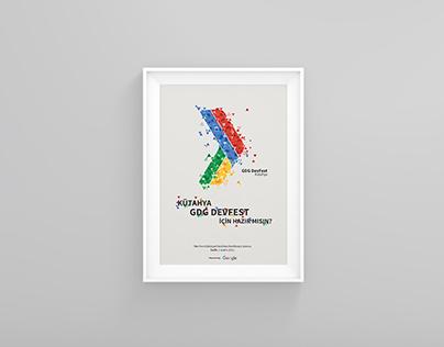 GDG Devfest Poster Design
