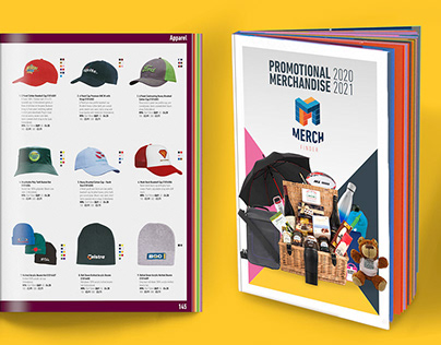 MERCH FINDER Branding, Logo & Catalogue Design