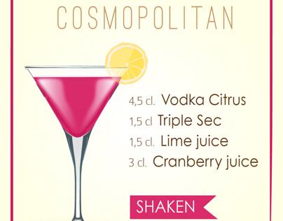 Cocktails - Cosmopolitan