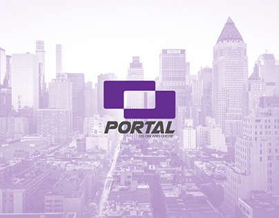"Visual identity ""PORTAL""Engineering Construction Office"