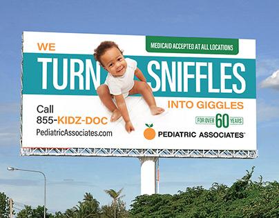 Pediatrics Associates - Outdoor & Digital Campaign