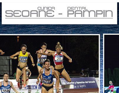 Poster atletismo clinica dental seoane-pampin