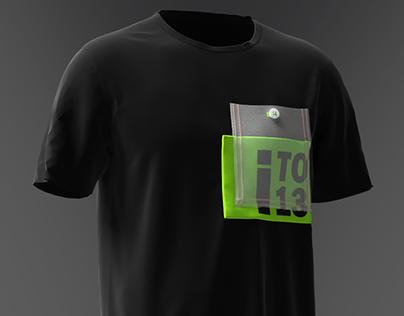 CLO 3D - Black T-shirt Men's
