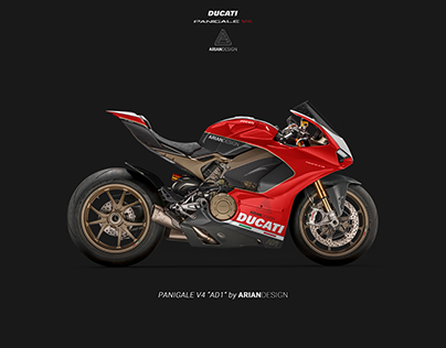 """Ducati Panigale V4 livery """"AD1"""""""