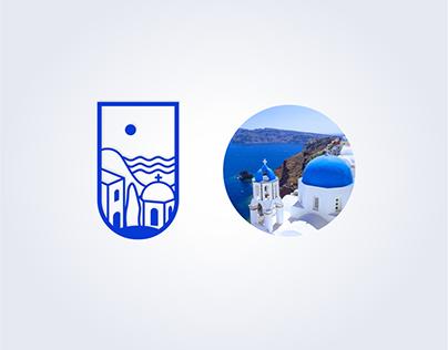 Santorini spirit Logo
