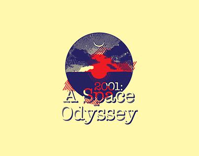 RetroLogo. 2001: A Space Odyssey