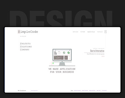 Site SimpleCode