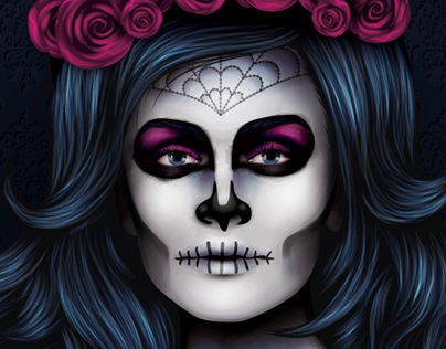 Advanced Vector Portraits Spooky Edition - Video Course