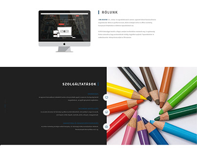 BN creative webpage