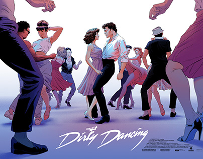 Dirty Dancing Screen Prints