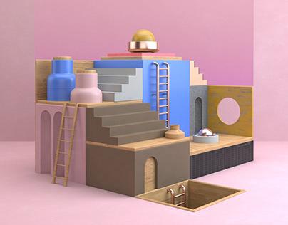 Buildings + Colors