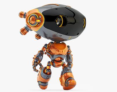 Robot Frog