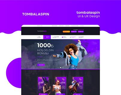 Tombalaspin UI/UX Design