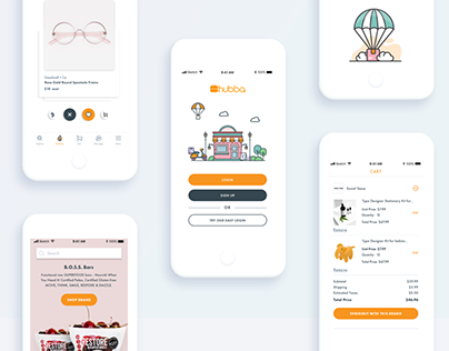 Hubba Mobile App - UX/UI Case Study