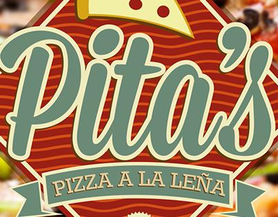 Pita's Pizza Logo