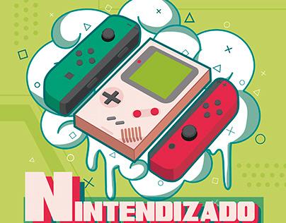"Logo Podcast ""NINTENDIZANDO"""