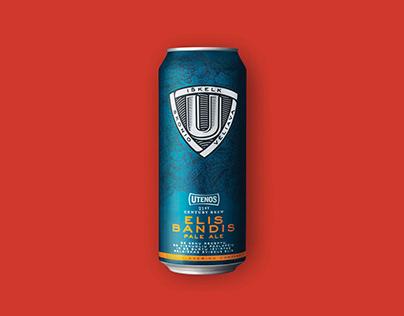 """Launch of the new """"Utena"""" beer."""
