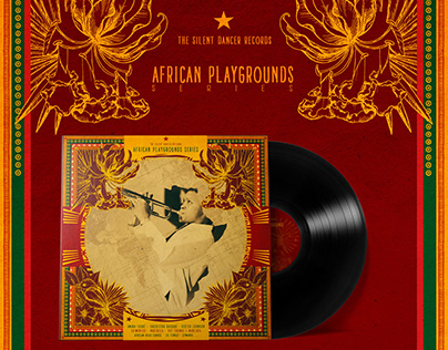 Vinyl Cover | African Playgrounds