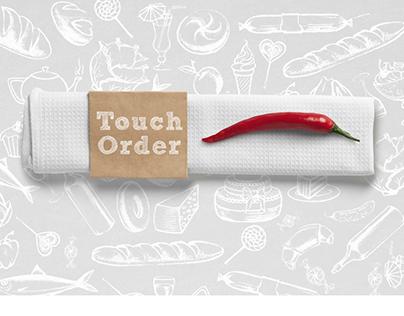 TouchOrder- restaurant card application