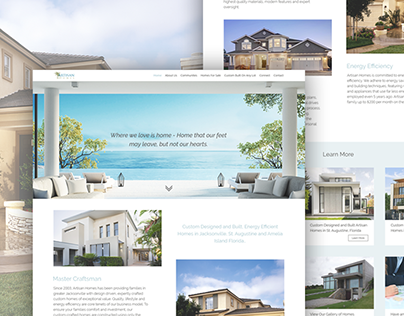 Estate Agent - Website Design