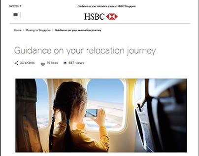HSBC Expat Online Content