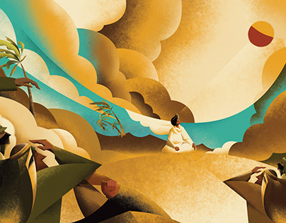 Illustration | The Alchemist Book