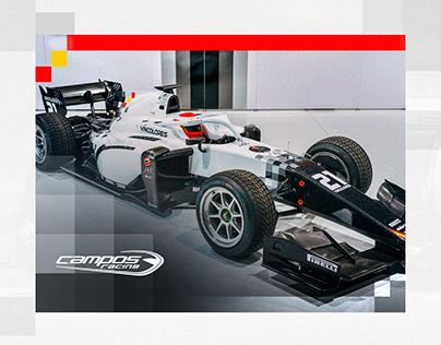 Campos Racing Línea Gráfica 2021