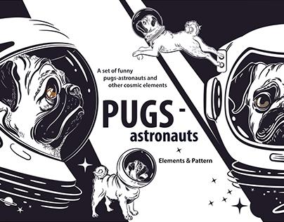 Pug-astronauts