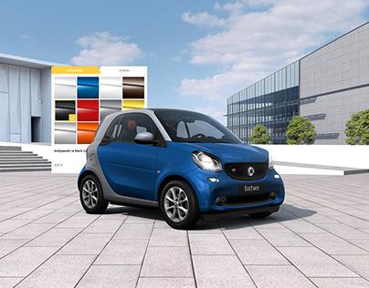 Smart - Highend 3D Car Configurator in WebGL