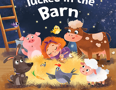 Tucked in the Barn.Bedtime Book.