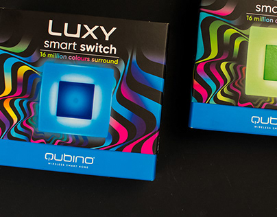 LUXY smart switch   packaging, concept, web, fair