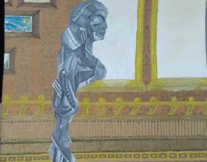 Estatua, Daniela Fonseca.
