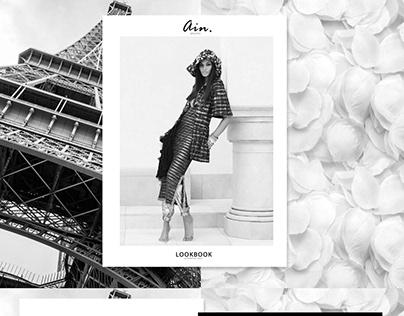 Fashion Lookbook/Portfolio