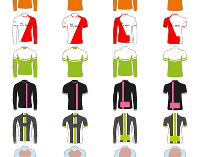 The Cycle Jersey custom templates