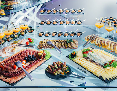 """Photographing Catering For Restaurant """"Perla"""""""