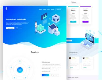 Blekkr Web Design