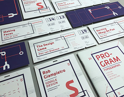 Conference Design Title: Typographic